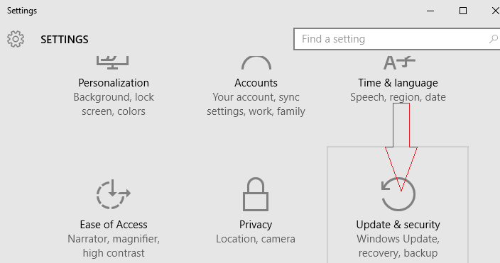 update-security-category-on-windows-10-settings-app