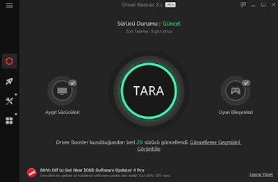iobit Driver Booster 8.6 Pro Lisans Kodu 6 Ay