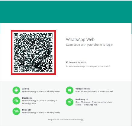 whatsapp web qr kodu okumuyor